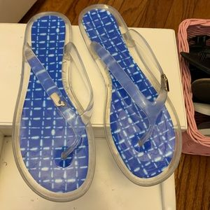 Vineyard Vines Blue Flip-flops